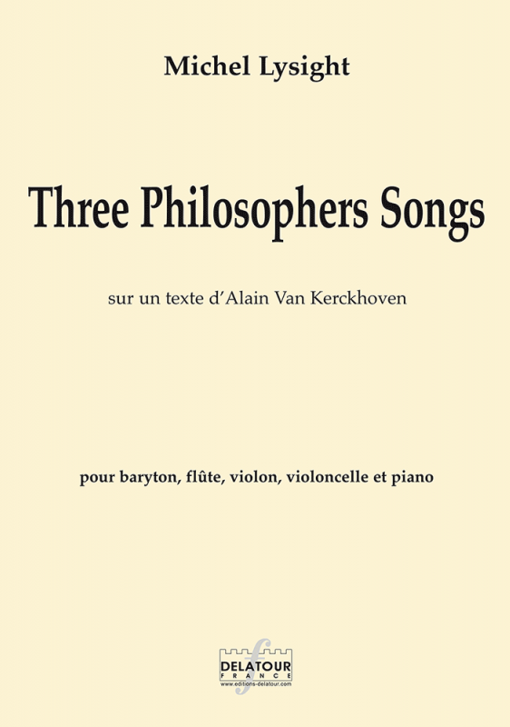 Three Philosophers Songs