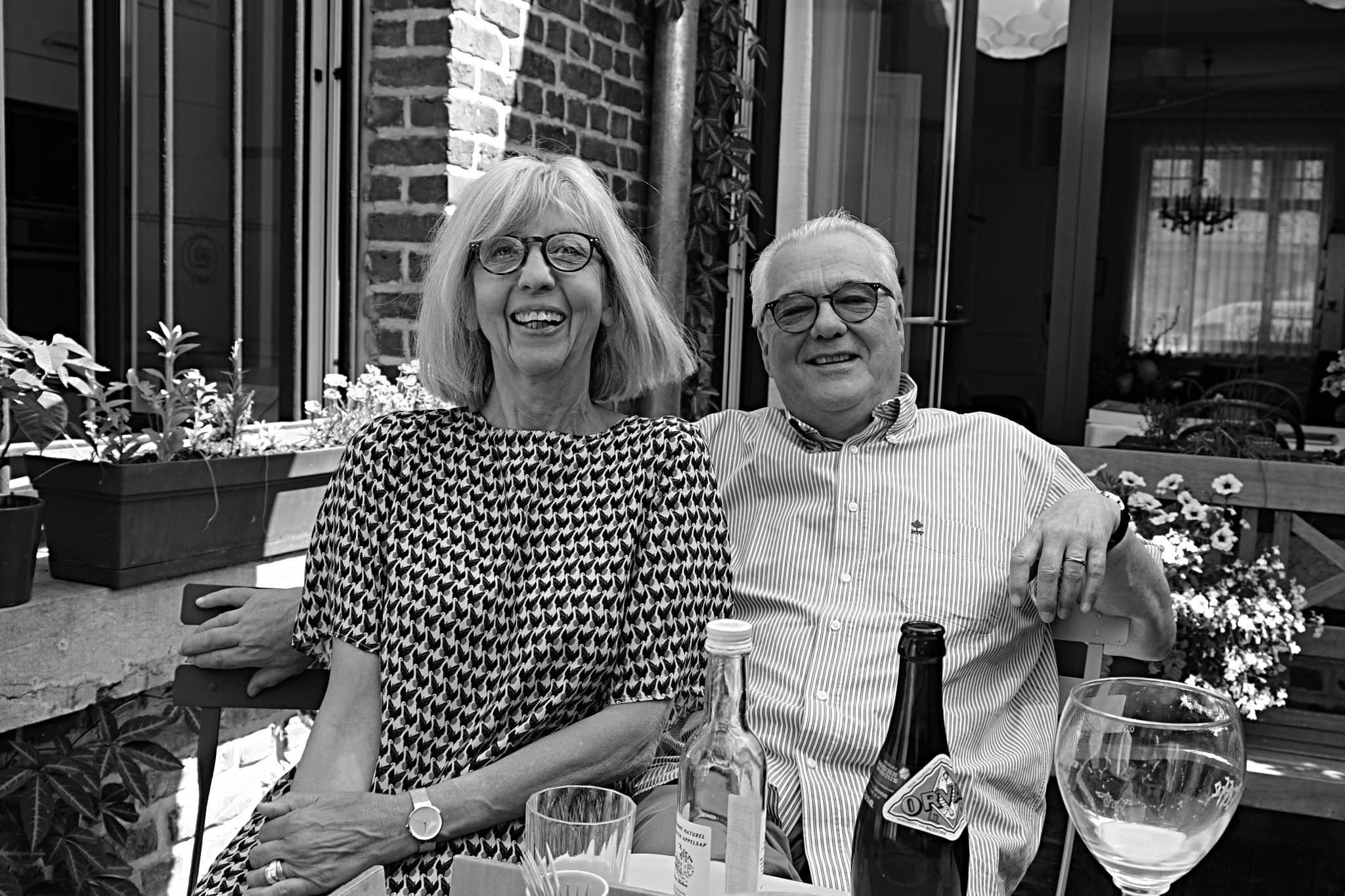 Martine et Daniel, lecteurs