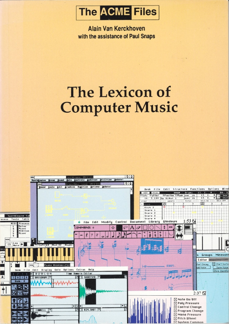 The Lexicon of Computer Music