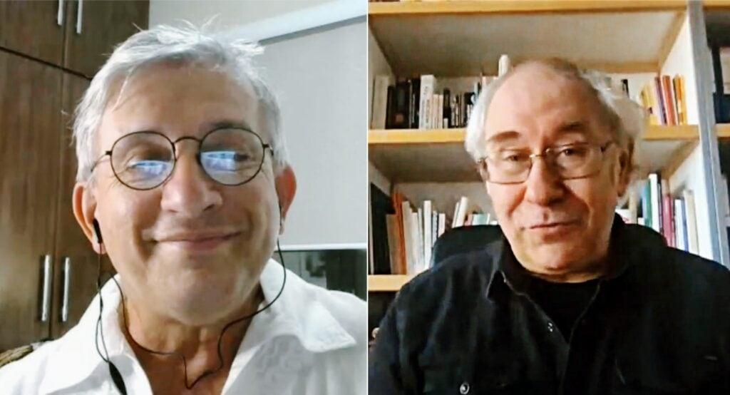 Antonio Eduardo et Alain Van Kerckhoven