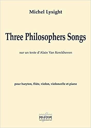 Three Philosophers Songs